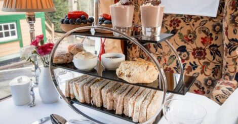Afternoon Tea at Carriages Tea Rooms