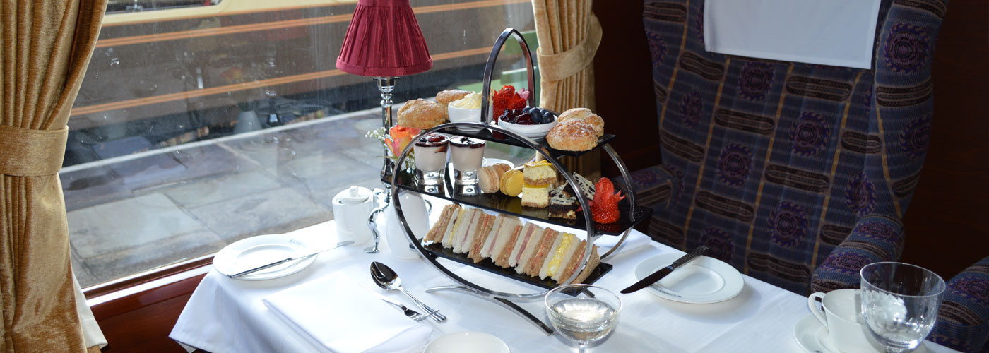 Carriages of Cambridge Afternoon Tea