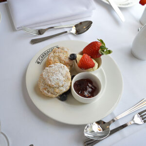 Carriages Cream Tea