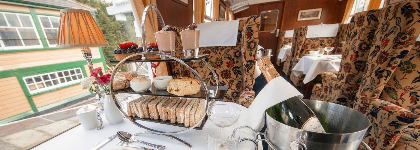 High Tea & Champagne at Carriages